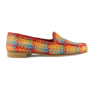 mocassino multicolor